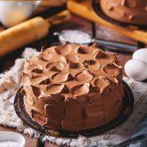 Belgian Chocolate Cake 2.5 lbs from Delizia