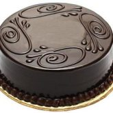 Chocolate Cake 4 lbs from Serena Hotel