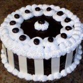 Fresh Chocolate Cream Cake 4 lbs from Serena Hotel