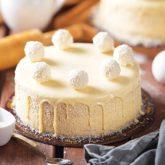 Raffaello Cake 2.5 lbs from Delizia